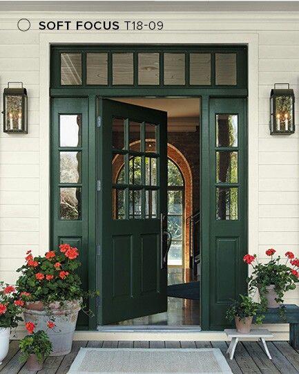 Behr Soft Focus Exterior House Colors Exterior Patio