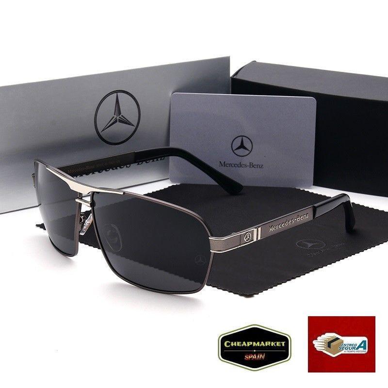 ac8225301e gafas polarizadas y protección 100% UV 400 design for Mercedes Benz gris