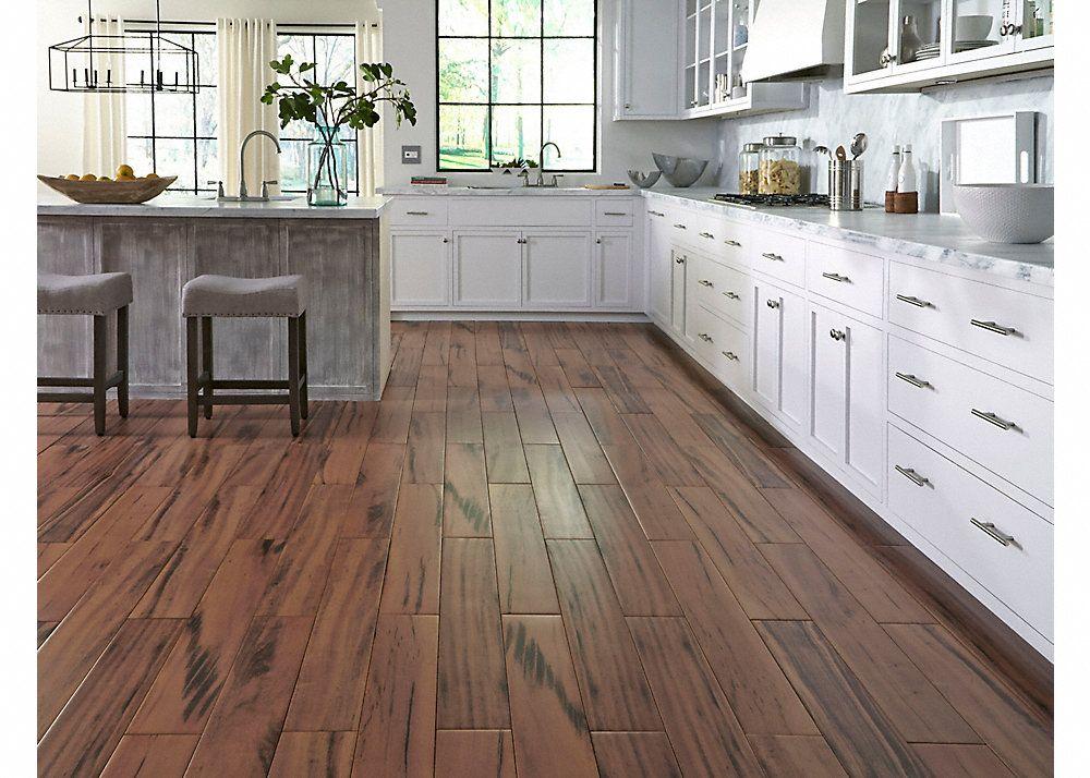 36 X 6 Elegant Wood Brazilian Koa Porcelain Tile Fullscreen Kitchen Floor Tile Faux Wood Flooring Wood Like Tile