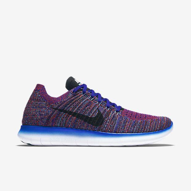 831069-402 Nike Free RN Flyknit Men Shoes