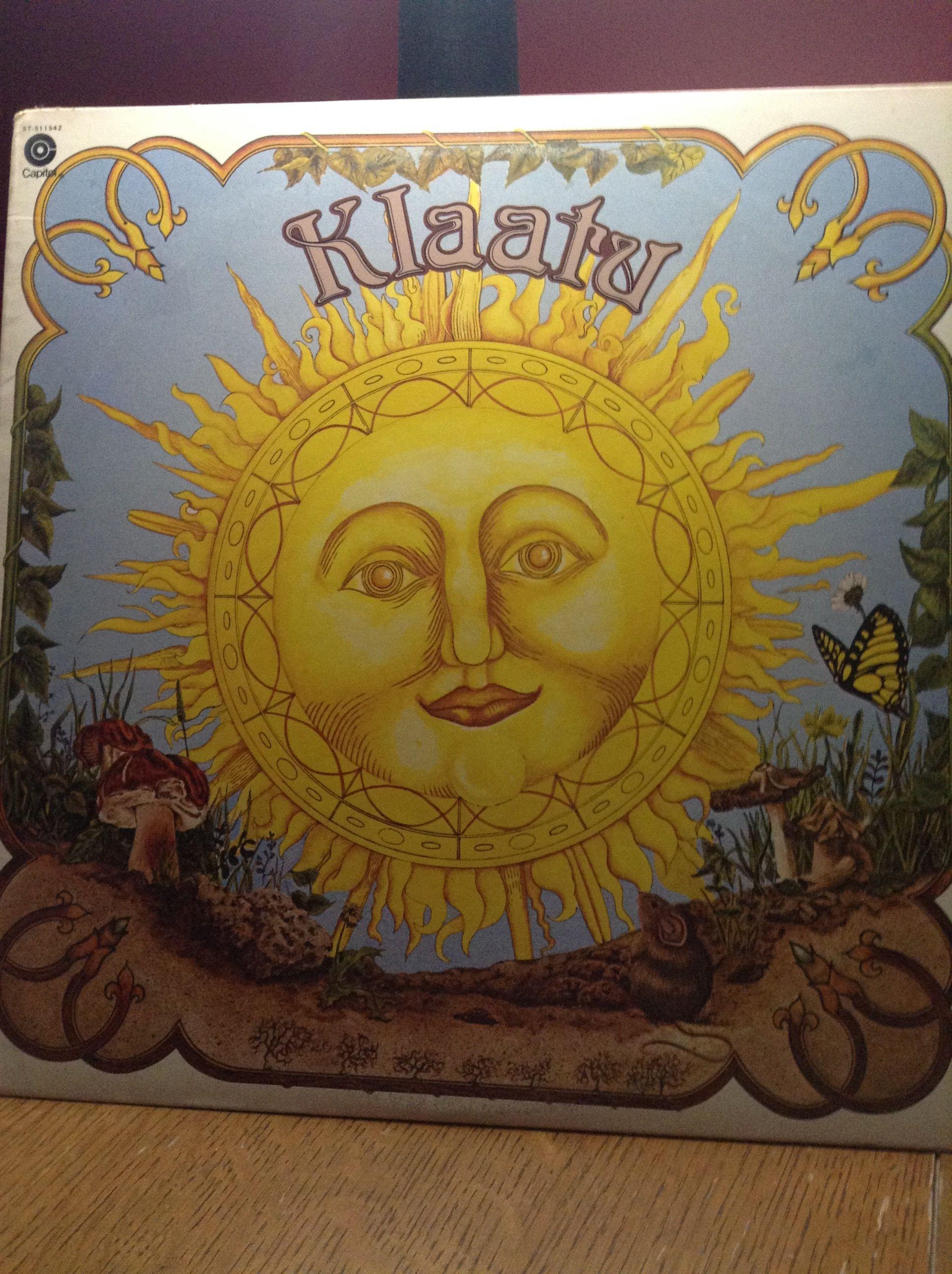 Klaatu Debut Album 1976 Album Art Classic Rock Albums Rock