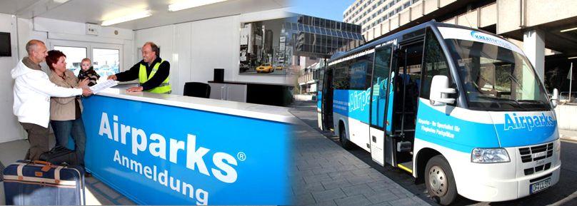 Airparks Frankfurt; günstig am Flughafen parken. ADAC