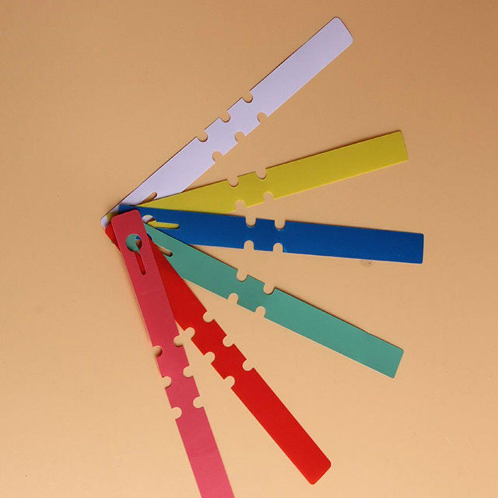 100 Pcs Waterproof Plastic Label Garden Flower Nursery Hanging Potted Plant Tag