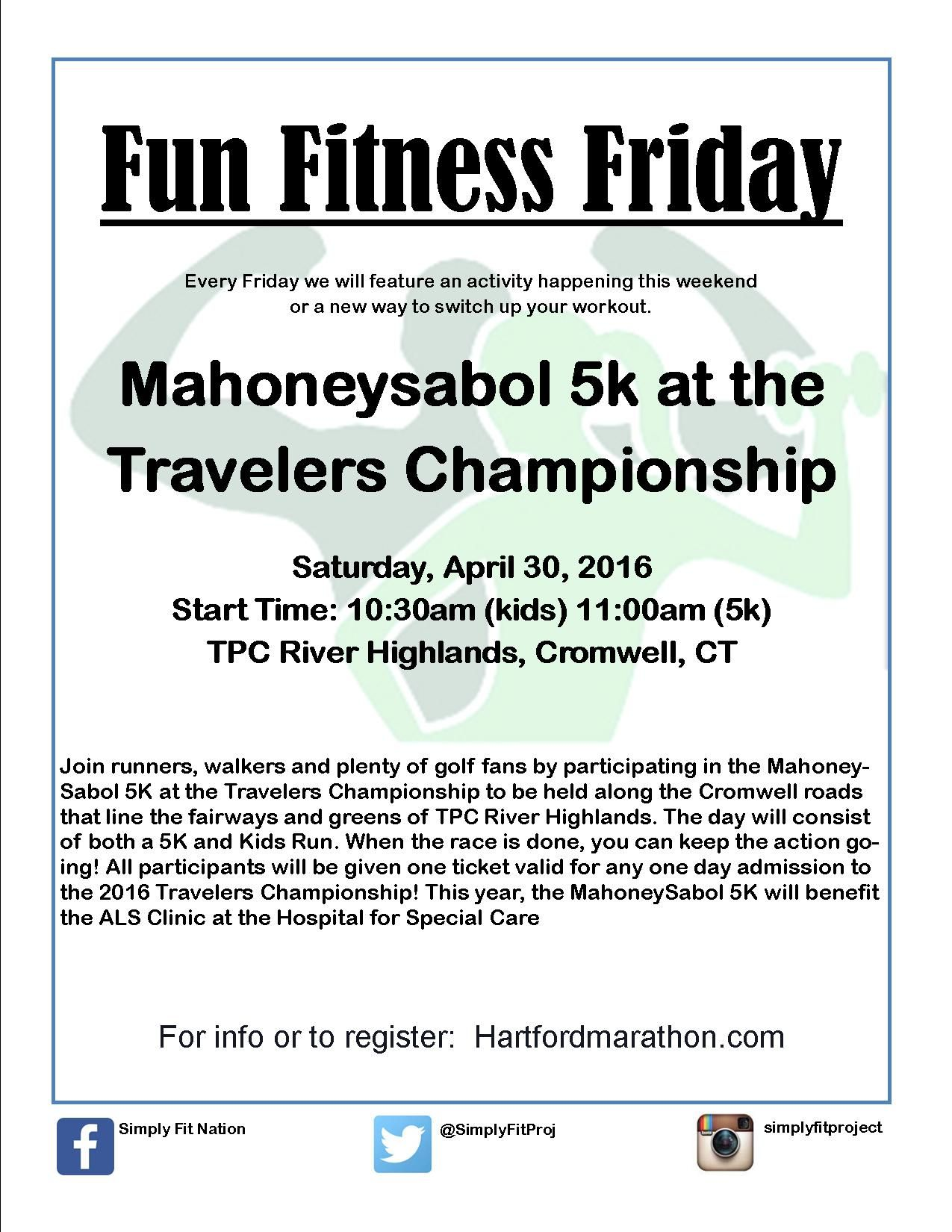 Fun Fitness Fridays will focus on local activities and workouts to