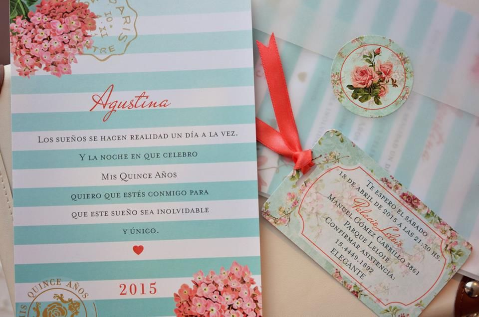 Tarjeta de 15 vintage Paris 2 Tarjetas de 15 años Pinterest Wedding and Weddings