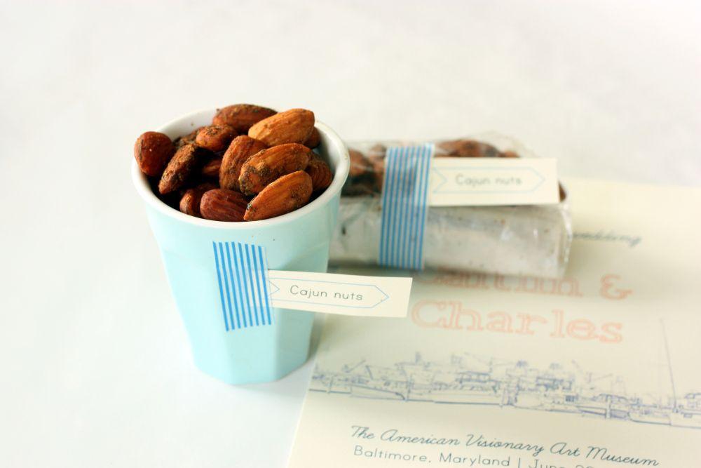 Cajun Spiced Almonds