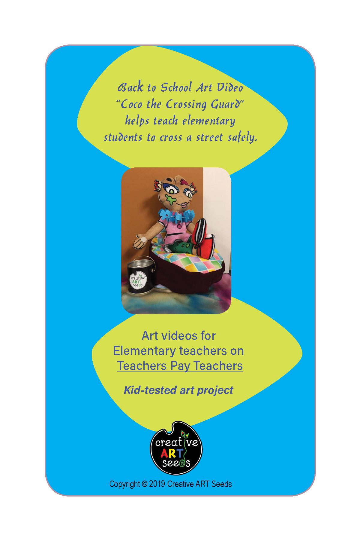 Distance Learning Coco The Crossing Guard