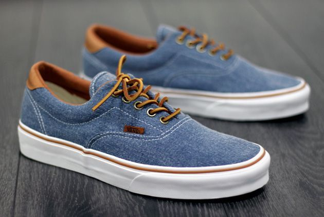 denim vans sneakers