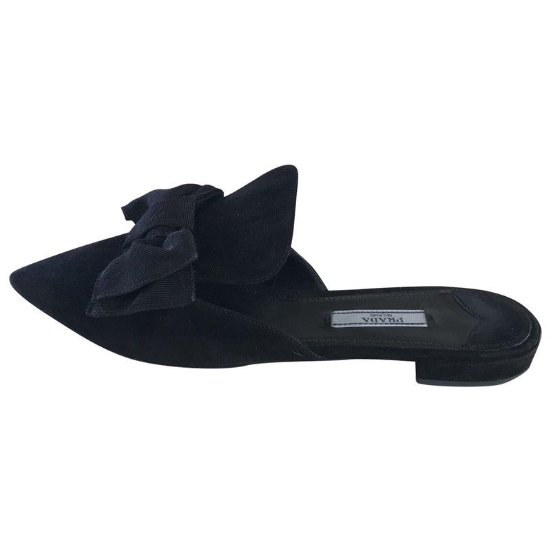 8c88ada1d Loading... Buy your princetown cloth flats GUCCI on Vestiaire Collective ...