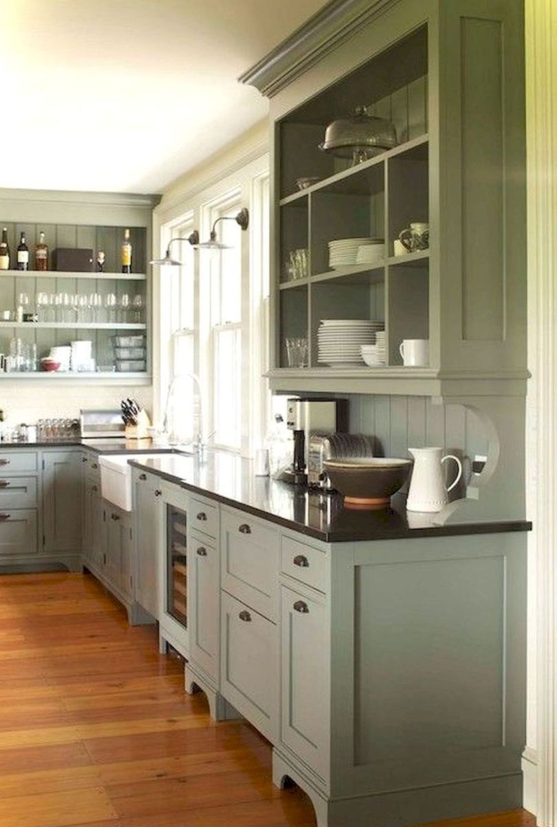 Best Rustic Farmhouse Kitchen Cabinet Makeover Ideas 1