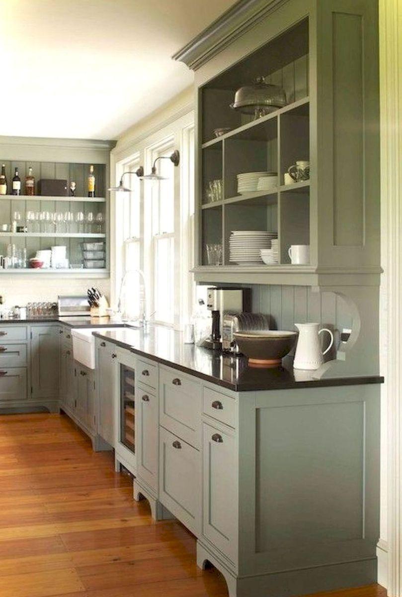 Pin By Fatima Cheikh Zerrad On Farmhouse Kitchen Cabinets Decor Rustic Farmhouse Kitchen Above Kitchen Cabinets