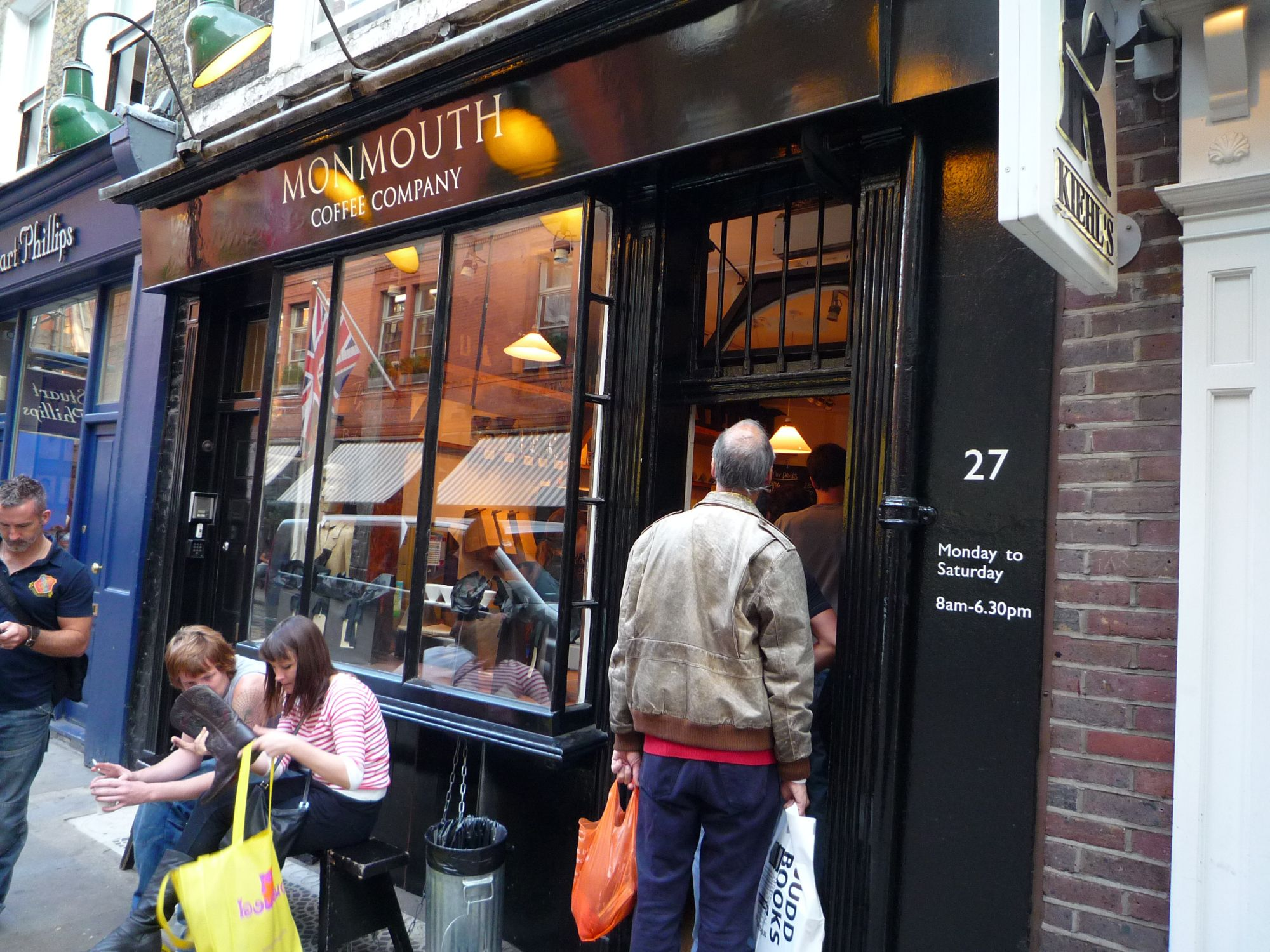 Cafe Hounding Monmouth Coffee Company Covent Garden