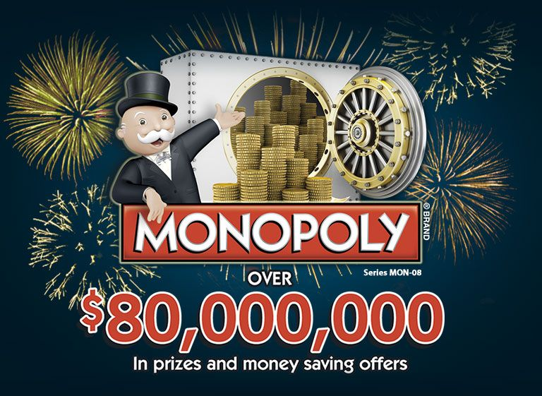 Monopoly collect win game contest games instant win