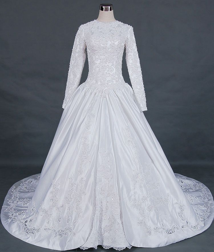 Modest Wedding Dresses With Long Sleeves