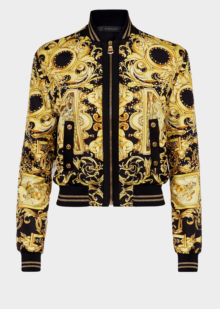 d4513fece6 Twill Baroque Bomber Jacket for Women | Online Store EU in 2019 ...