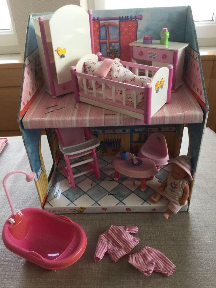 Mini Baby Born Sammlung Kleines Haus Mit Weißen Möbeln Und Puppe | Mini  Zapf Creation Mini Baby Born | Pinterest | Baby Born.