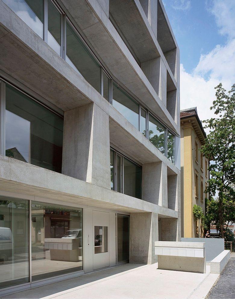 Silvia gm r reto gm r architekten haus m ller basel - Architekten basel ...