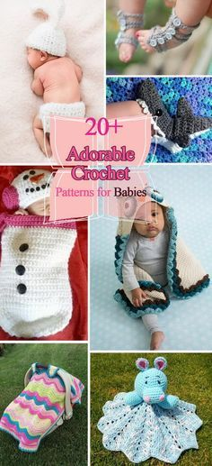 20+ Adorable Crochet Patterns for Babies