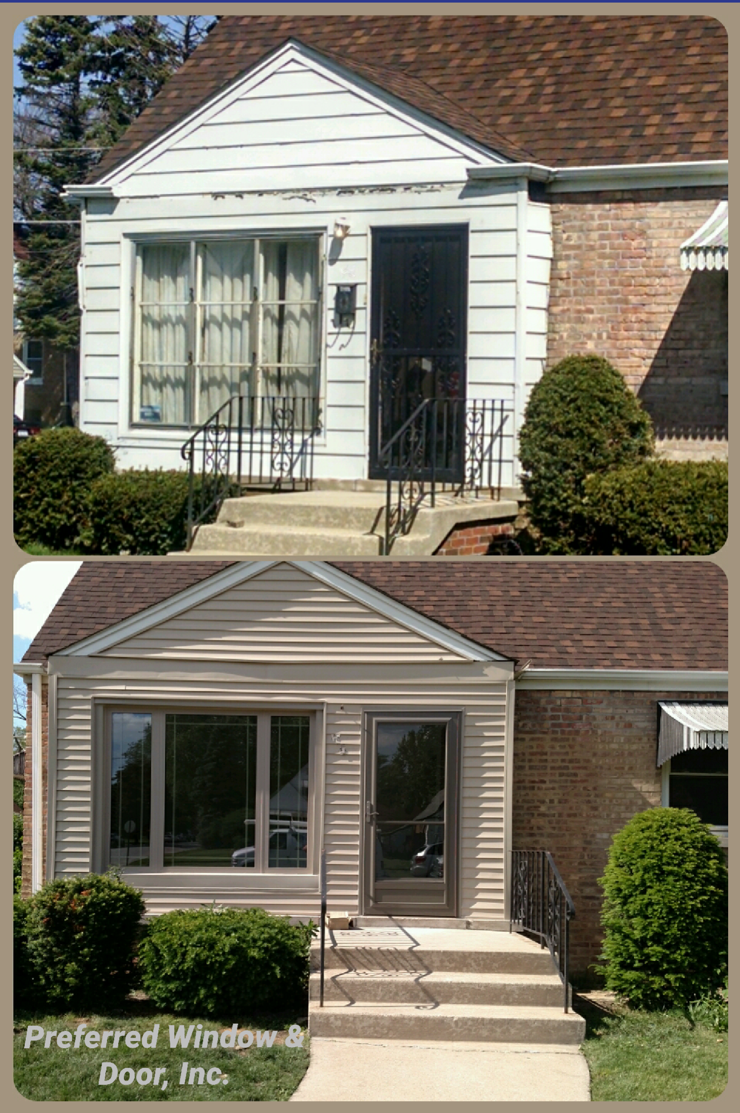 Give Your Home A Facelift! Call Preferred Window And Door At 708 895