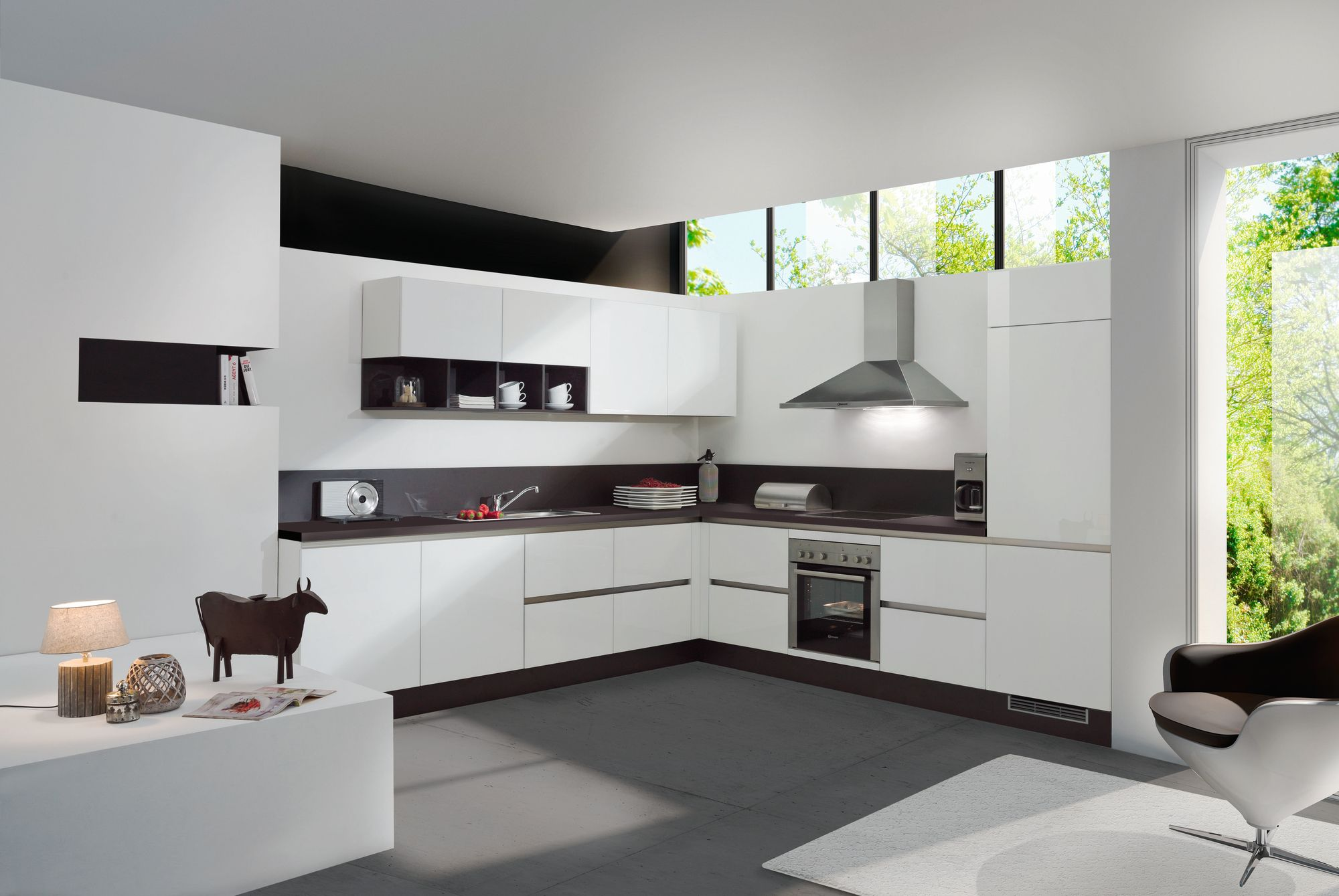 Cuisine aviva moderne design pur for Decoration cuisine moderne 2014