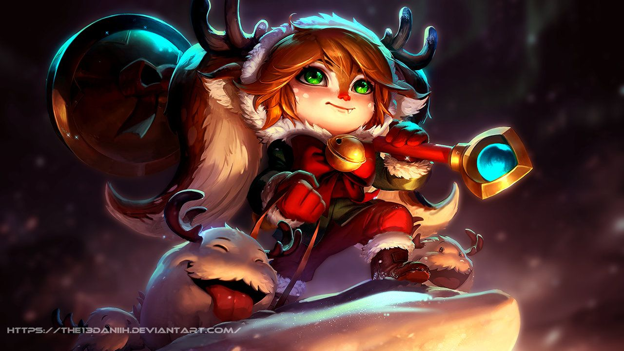 Snow Fawn Poppy Wallpaper Hd By The13daniih League Of Legends
