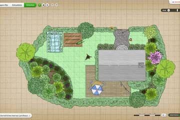 Gartenplaner online kostenfrei nutzen - planungswelten.de #landscapeplans