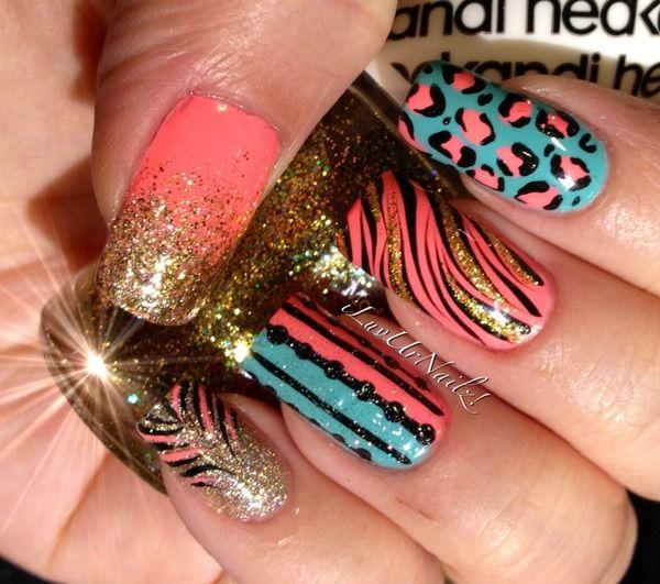 Crazy Nail Art: Crazy Nails THE MOST POPULAR NAILS AND POLISH #nails