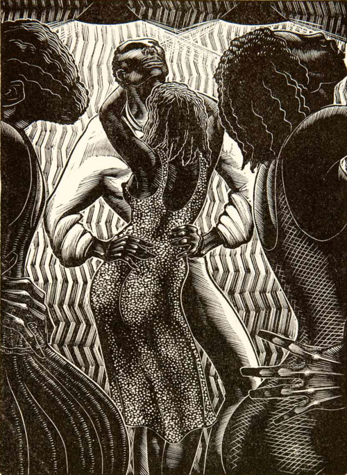 Danse du Pays in Martinique, 1930 by Lynd Ward