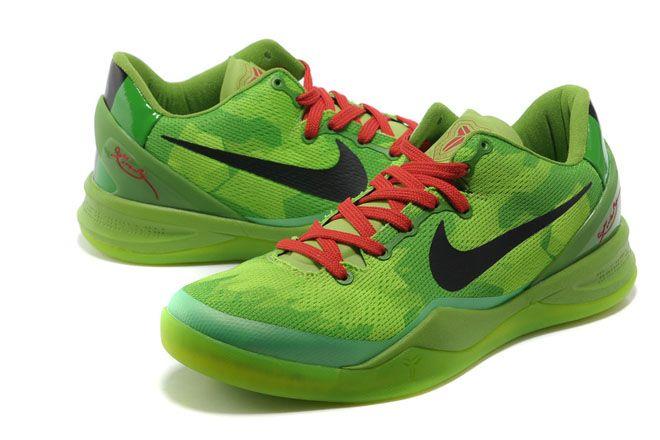 cdeb5a3d1280 Nike Zoom Kobe VIII(8) Green Black Red Men