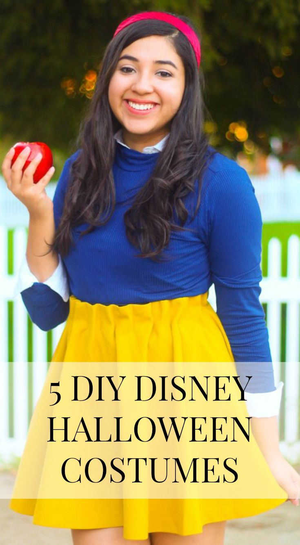 5 DIY Disney Halloween Costumes Disney halloween