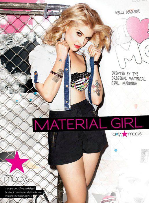 Kelly Osbourne For Material Girl Material Girls Kelly Osbourne