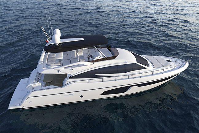 Ferretti Yachts 650.