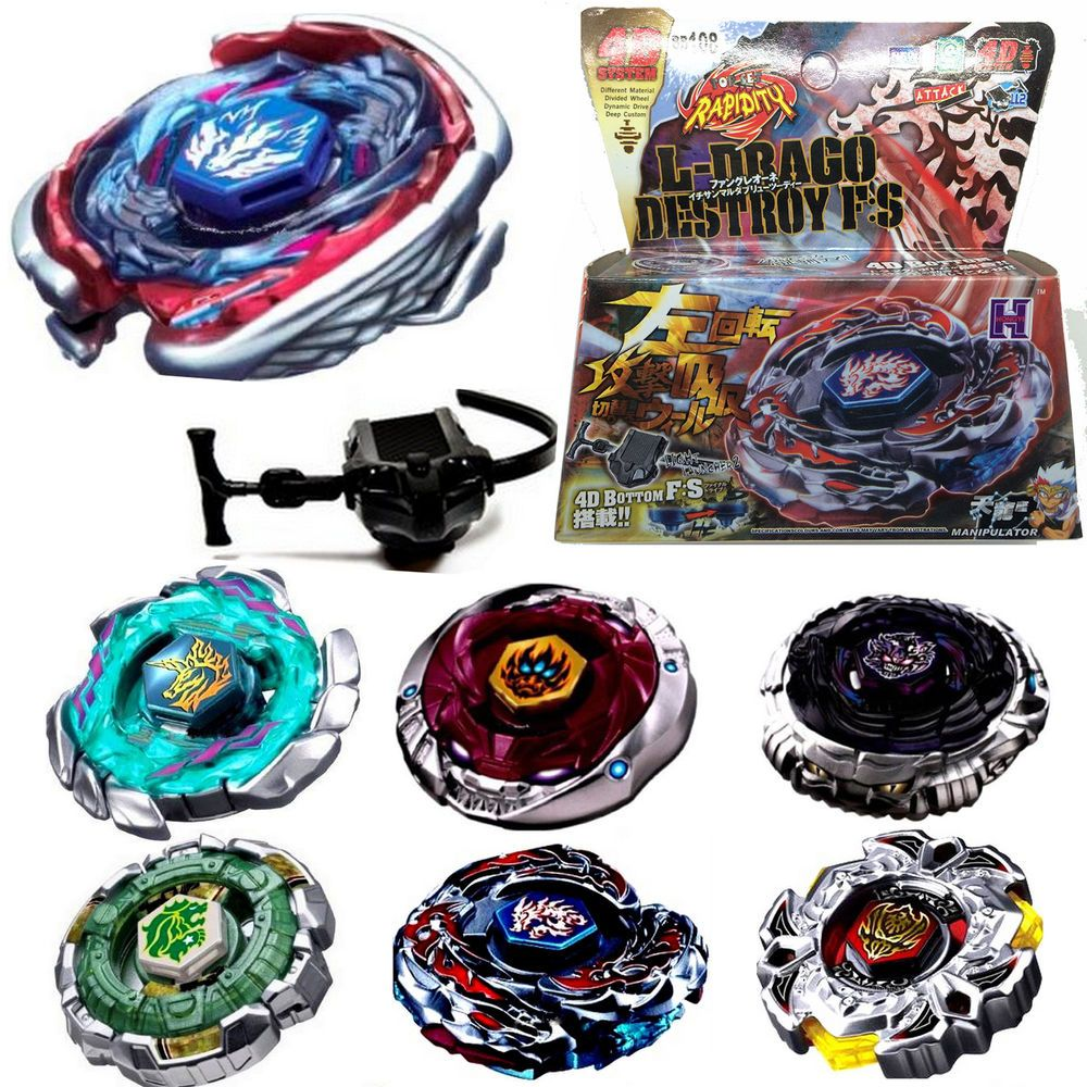 Fusion Top Rapidity Fight Metal 4D Master Beyblade
