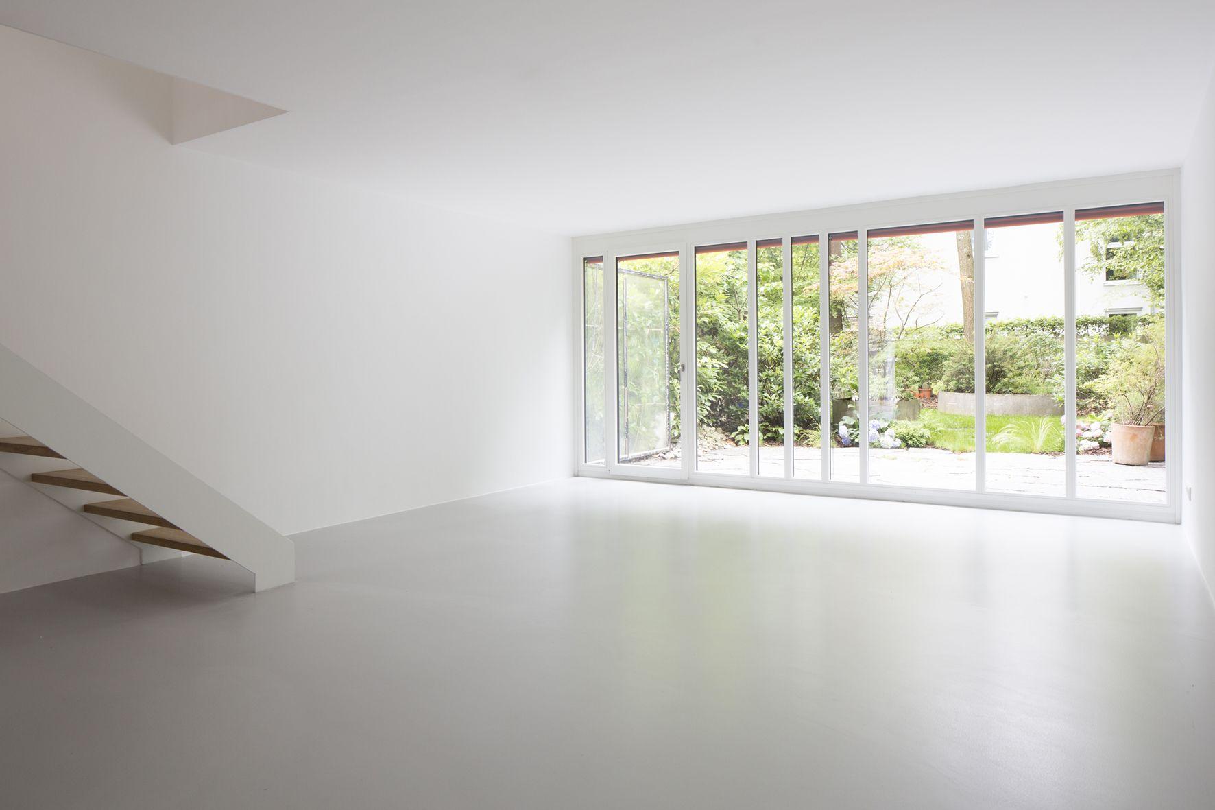 Umbau eines reihenhauses einfamilienh user for Fliesenboden renovieren