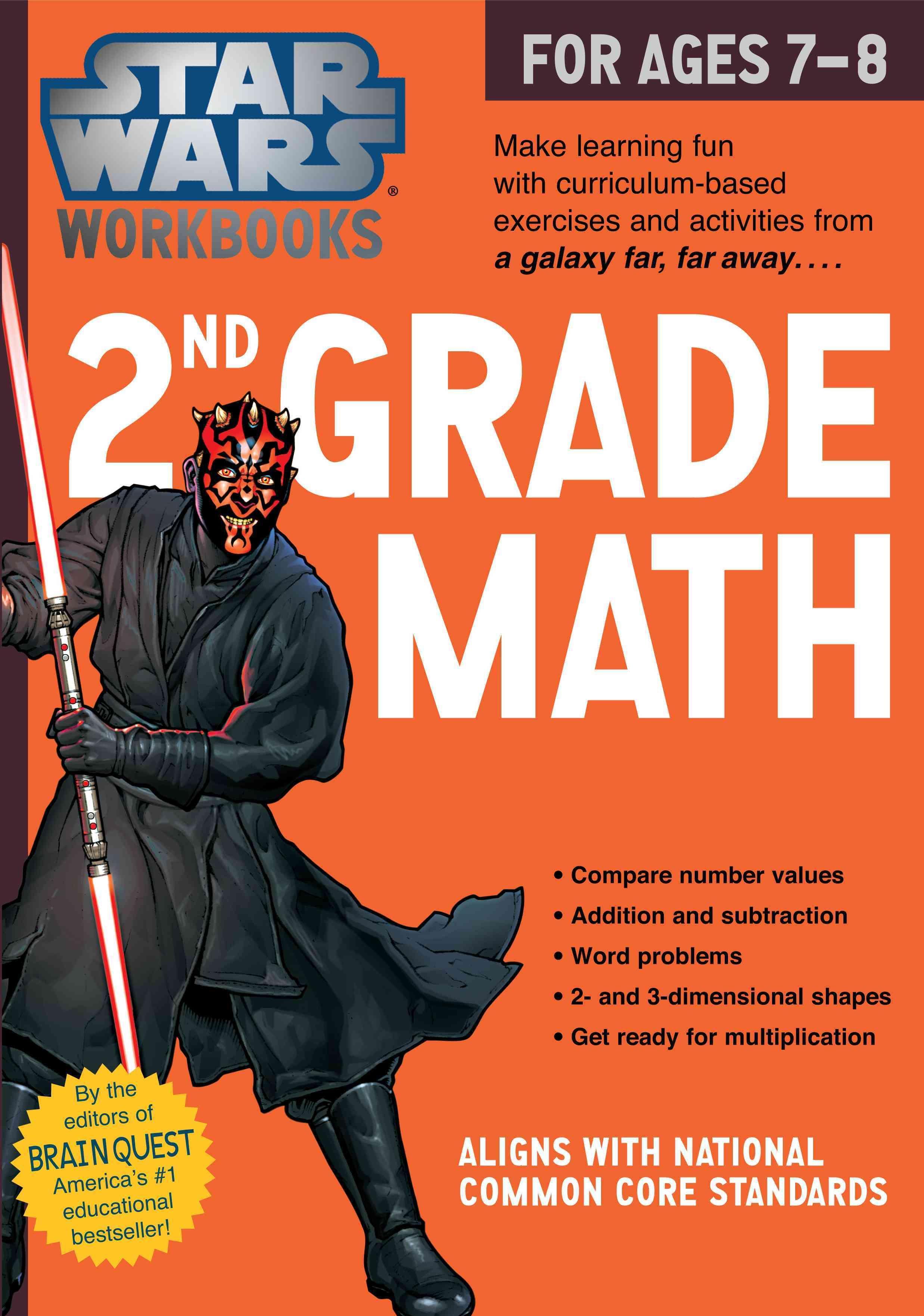 Star Wars 2nd Grade Math for Ages 7-8   Homeschool   Pinterest ...