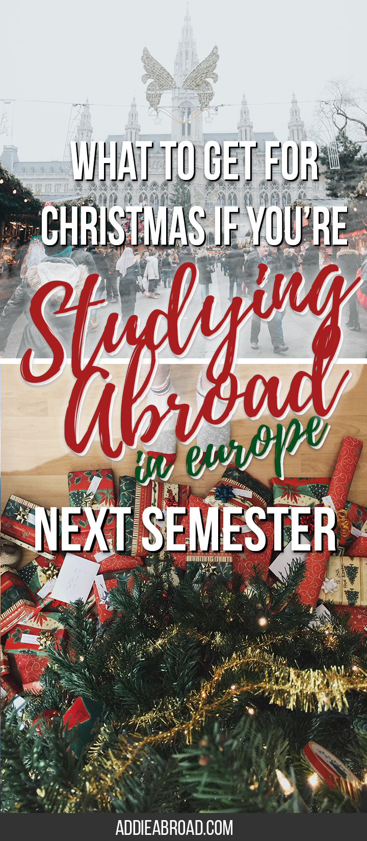 dont know what to ask for for christmas over even what to pack for study abroad check out this great christmas list for studying
