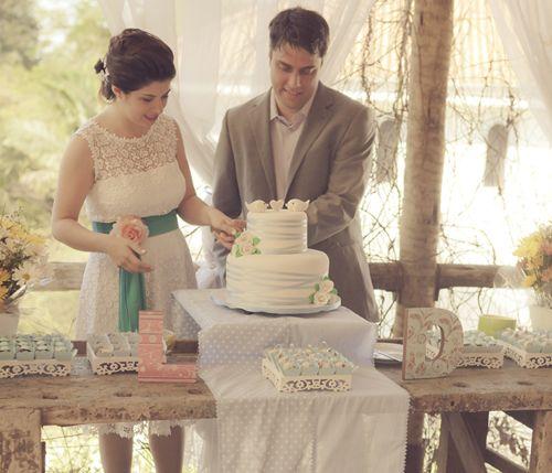 Um Casamento Intimista, Rústico E Com Ar Vintage: Real