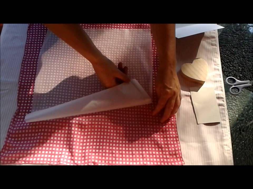 stoff auf holz oder karton applizieren basteln ostern weihnachten pinterest. Black Bedroom Furniture Sets. Home Design Ideas