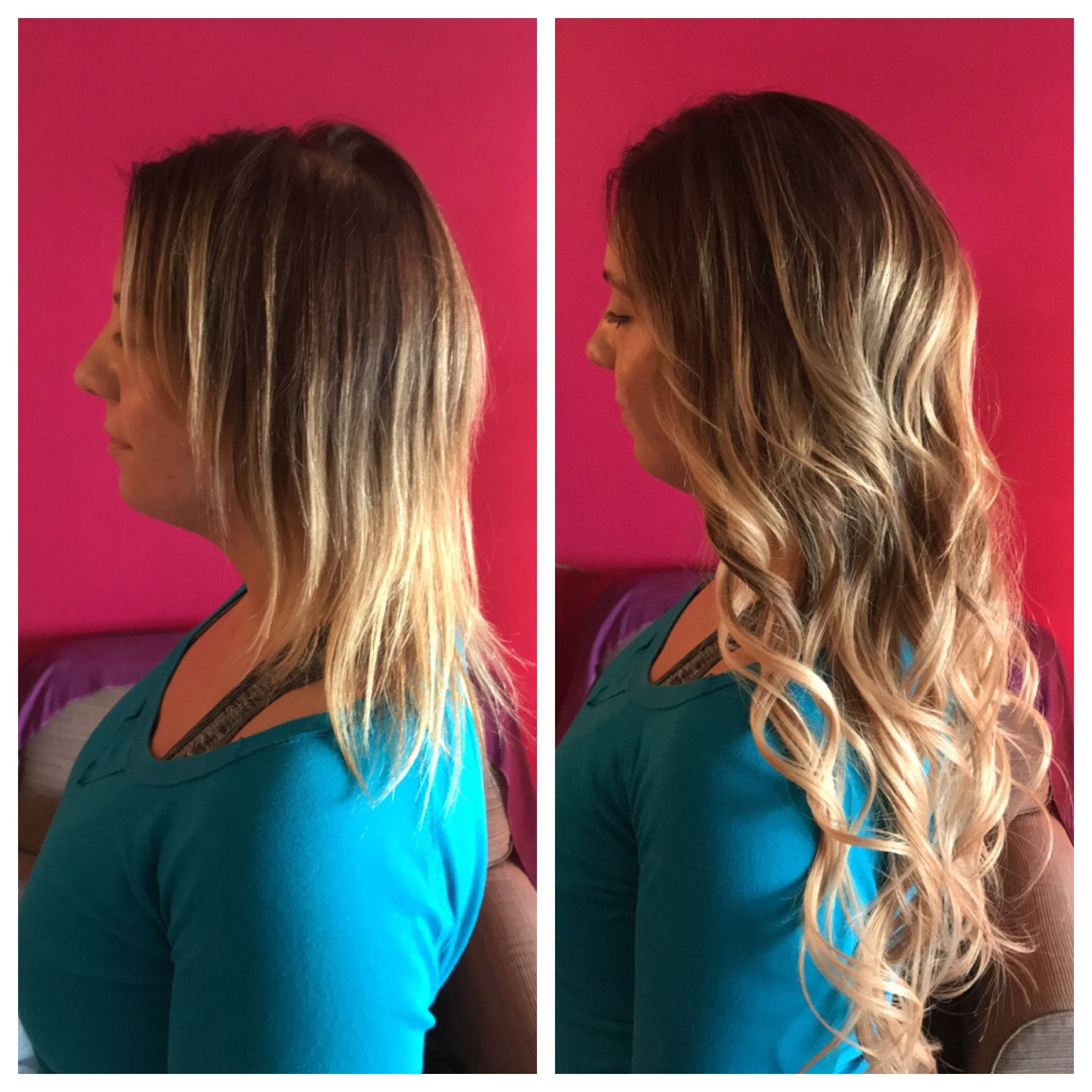 Cold Fusion Hair Extensions Done By Gina From Glamhairus Down Dos