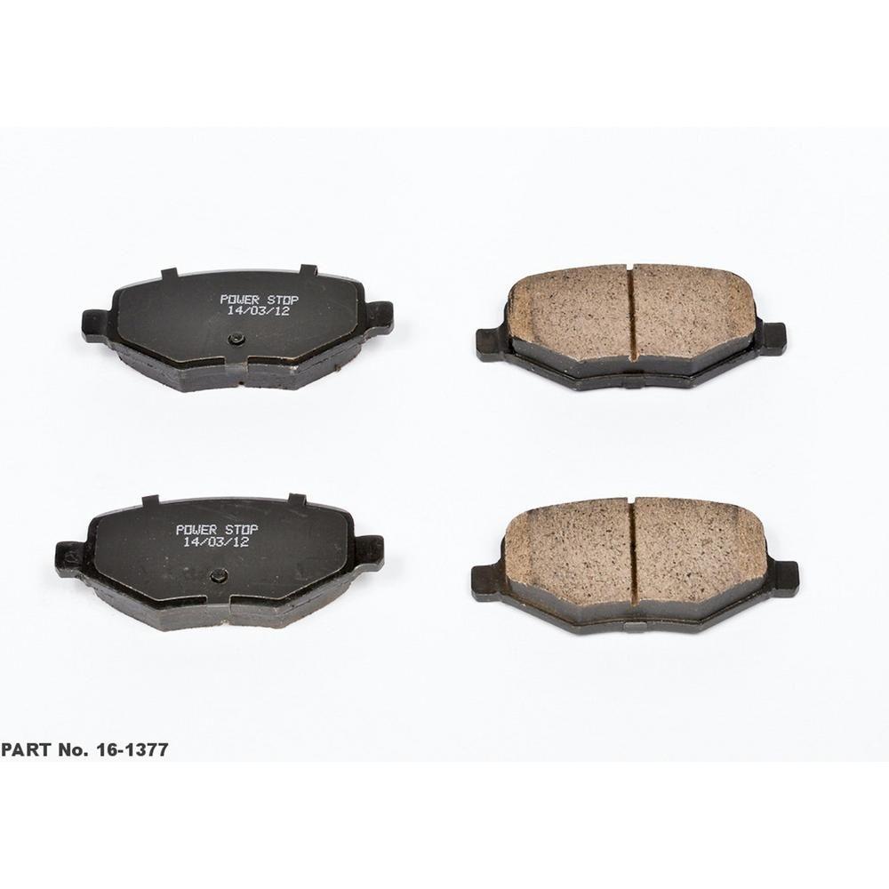 Rear Ceramic Brake Pads Kit Ford Edge Explorer Flex Taurus Lincoln MKS MKT MKX