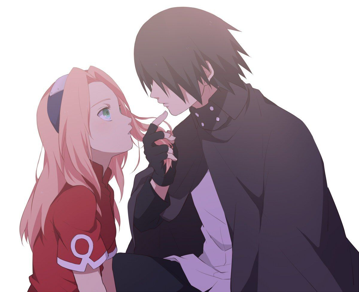 Саске/Сакура「 2 」 em 2020 (com imagens) | Casal anime ...