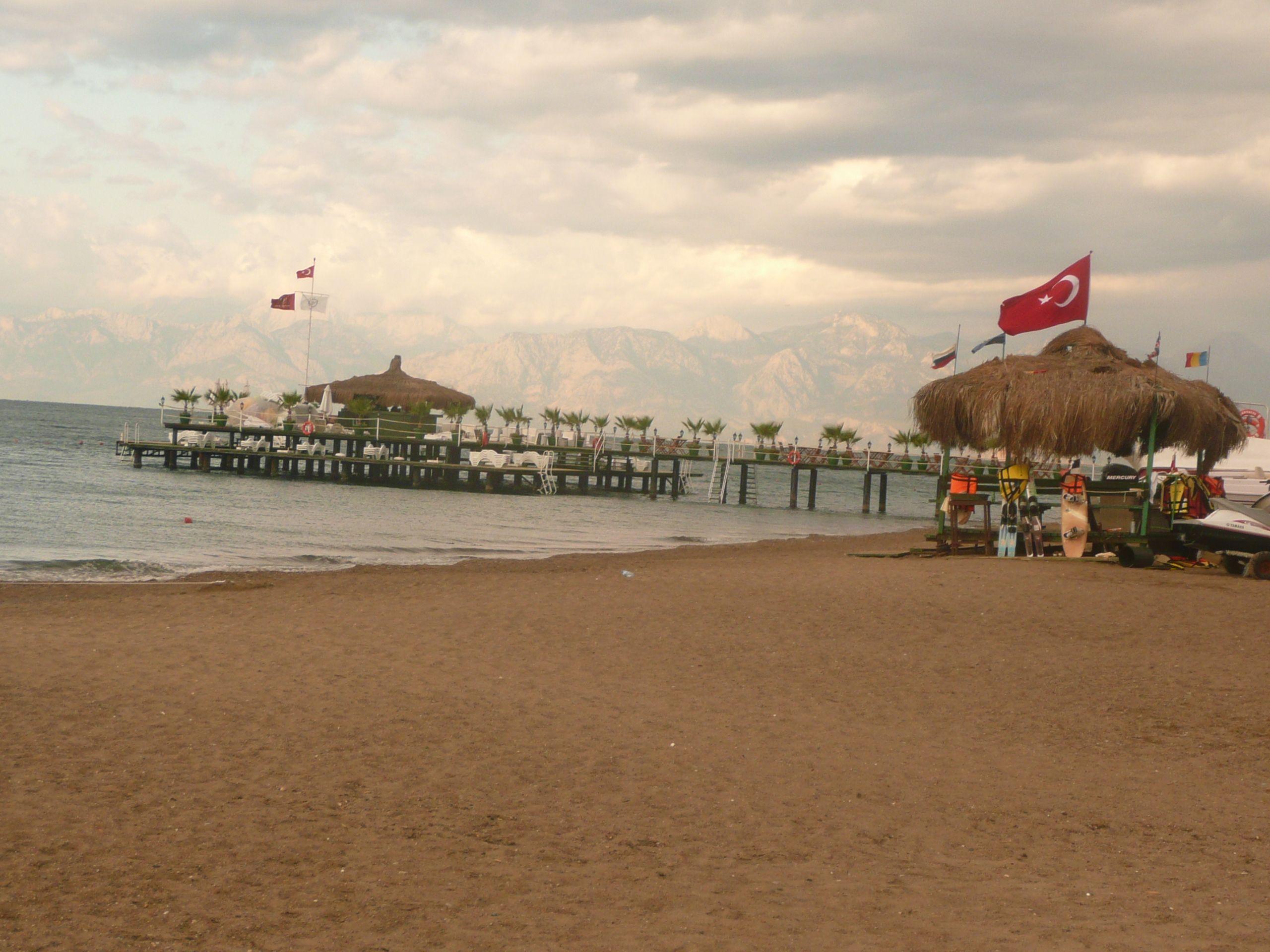 Morgens in der Türkei