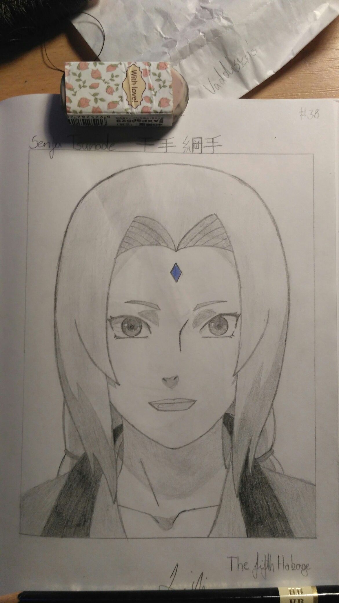 This Is Tsunade From Naruto Desenho De Anime Desenhos