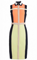 PAPER LONDON - Rayleigh Dress Multi - Designer Dress Hire