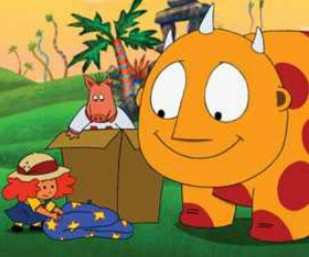 Childhood Nick Jr Cartoon Maggie And The Ferocious Beast Old