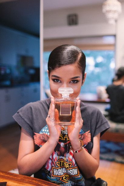 Singer Jhené Aiko's Makeup And Skincare Routine #jheneaiko