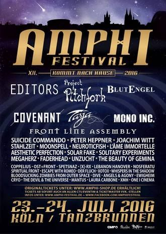 Timetable for Amphi Festival 2016 online - no concerts after 22:00h! what do you think of the timetable this year?