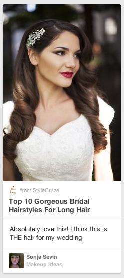 13 Ways To Rock Your Pin Descriptions To Get Massive Clicks Throughs Vintage Wedding Hair Bride Hairstyles Wedding Hairstyles