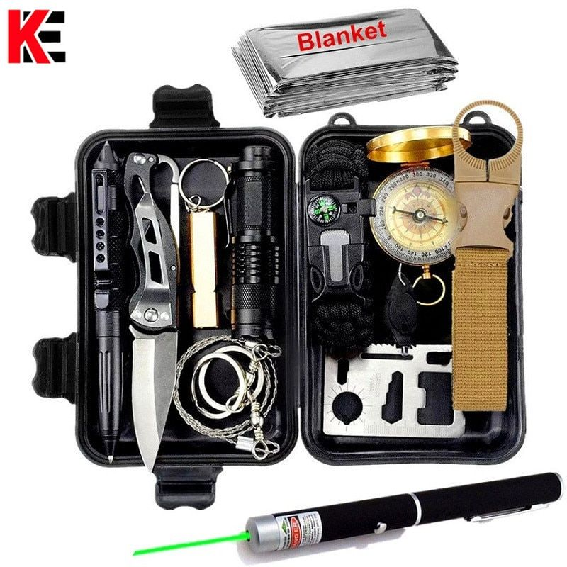 Other Emergency Equipment Edc Survival Kit Outdoor Sport Camping Hiking Gear Emergency Aid Tools Box Uk Thepodcafe Com Au