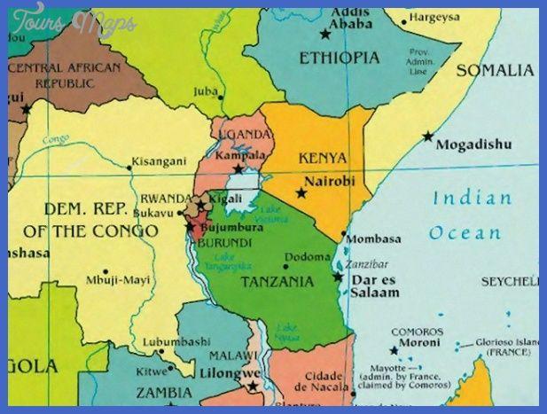 Awesome Rwanda Map Map Rwanda Burundi